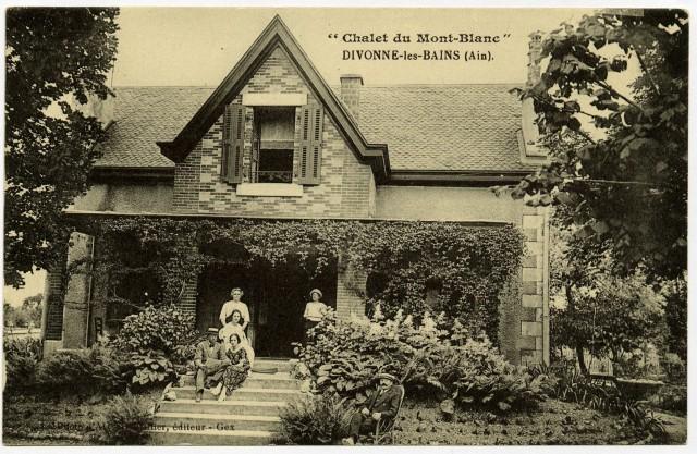 Chalet du Mont-Blanc à Divonne