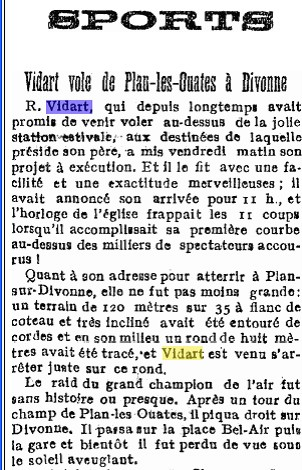 Journal de Genève 5 août 1911