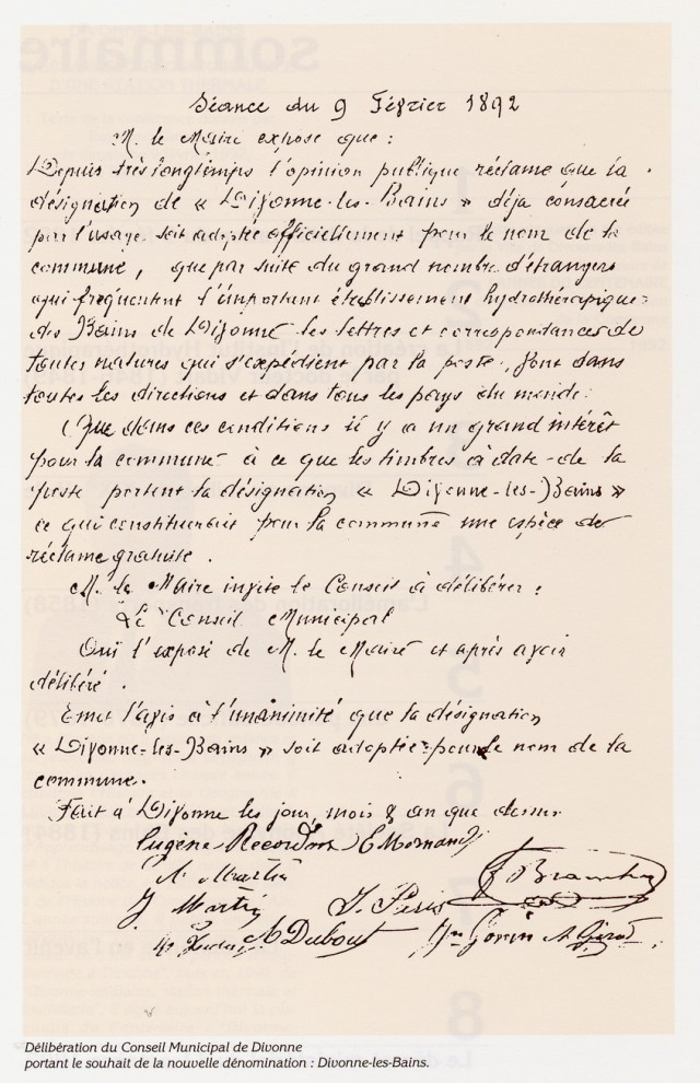 Séance du 9 février 1892