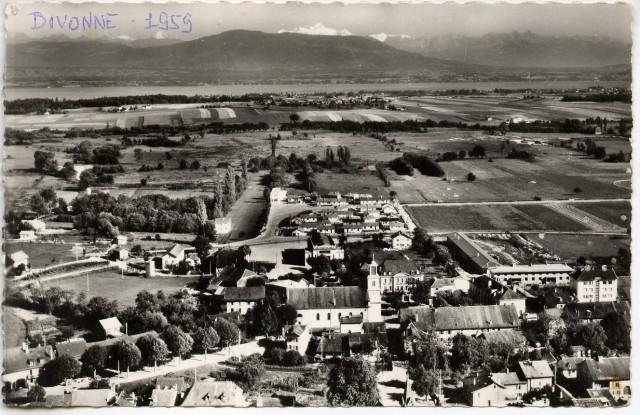 Vue Divonne 1959