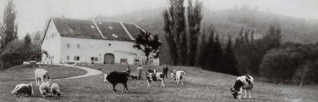 Ferme du Château avant 1909