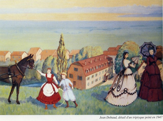 Fresque de Jean Debaud