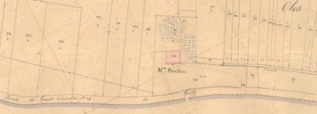 Maison Panthin - Plan napoléonien