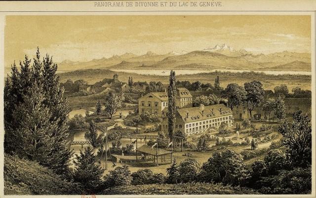 Panorama de Divonne