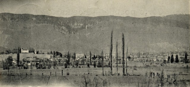 Carte datée de 1900