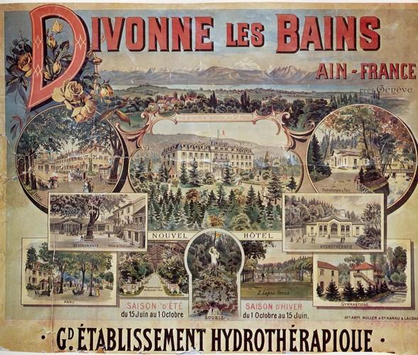 Divonne-les-Bains France  city photo : Maladies soignées à Divonne en 1897 | Raconte moi Divonne