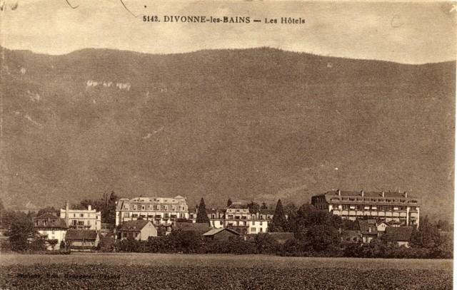 Divonne-les-Bains - Les Hôtels