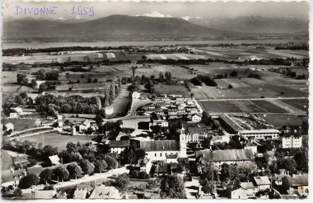 Vue de Divonne 1959