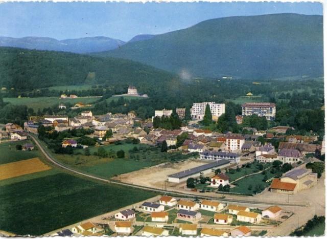 Vue de Divonne vers 1959