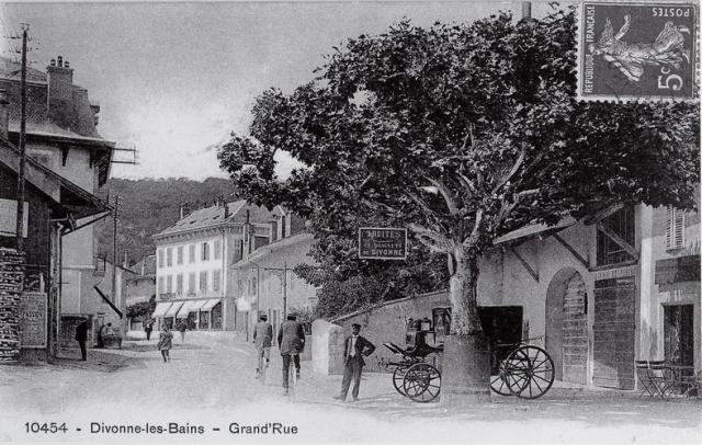 Grand' rue - Truites et beignets de Divonne
