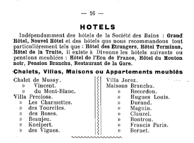 Guide officiel de 1908 page 16