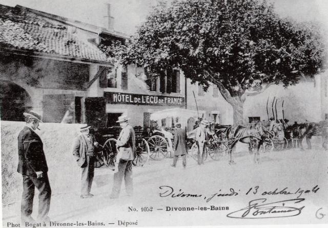 Hôtel de l'Ecu de France