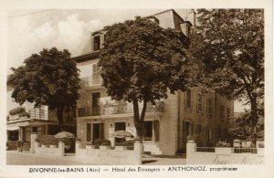 Hôtel des Etrangers