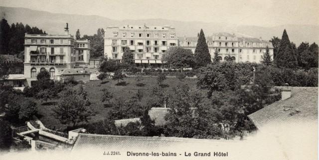 Le Grand Hôtel .carte d'avant 1904