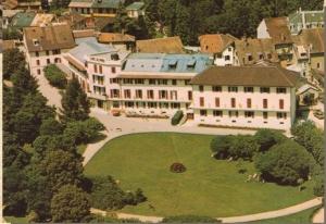 L'hôtel des Alpes avec son annexe