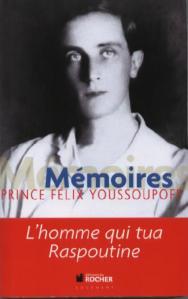 Mémoires du prince Youssoupoff