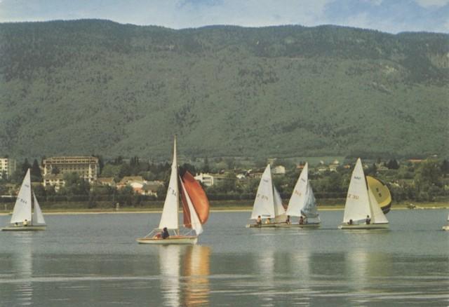 Régates sur le lac de Divonne