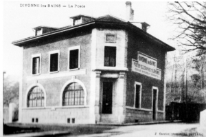 Le 4ème bureau de poste, rue de Vigny
