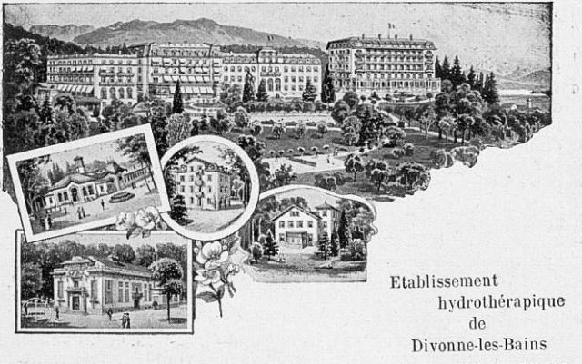Illustration dans le Guide officiel de la Société de Développement. 1908