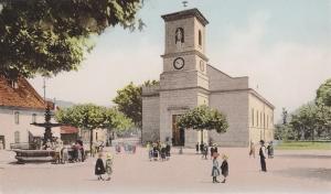 Ecole de Divonne - La récréation début XXème-c