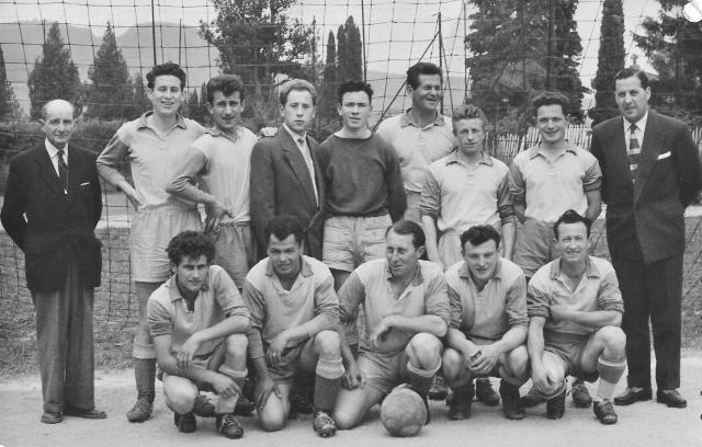 Finale Coupe Gessienne à Gex année 1957-58