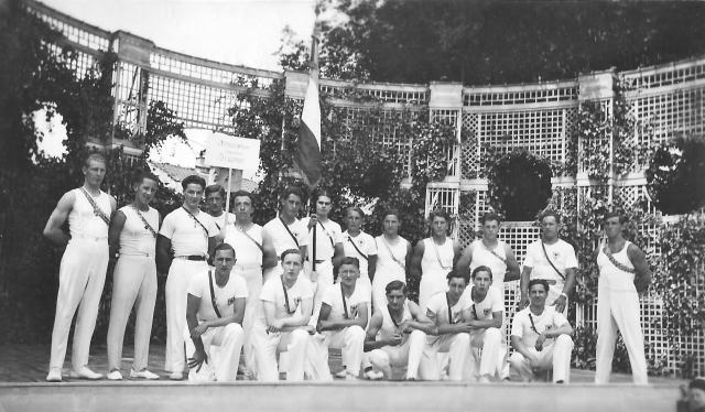 Gymnastique de Divonne juillet 1938-1