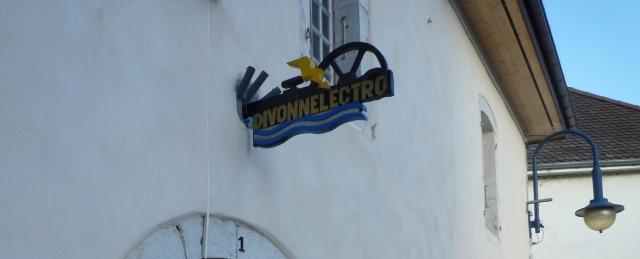 Entrée du Moulin David